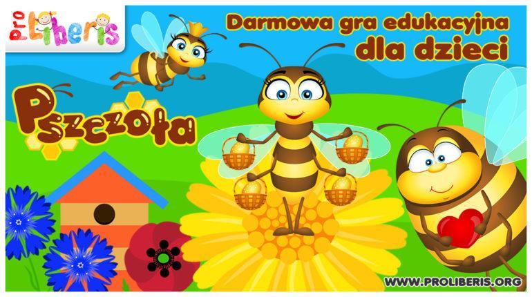 aplikacja dla dzieci pszczoła