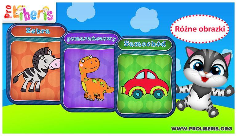 Połącz kropki - gra edukacyjna dla dzieci