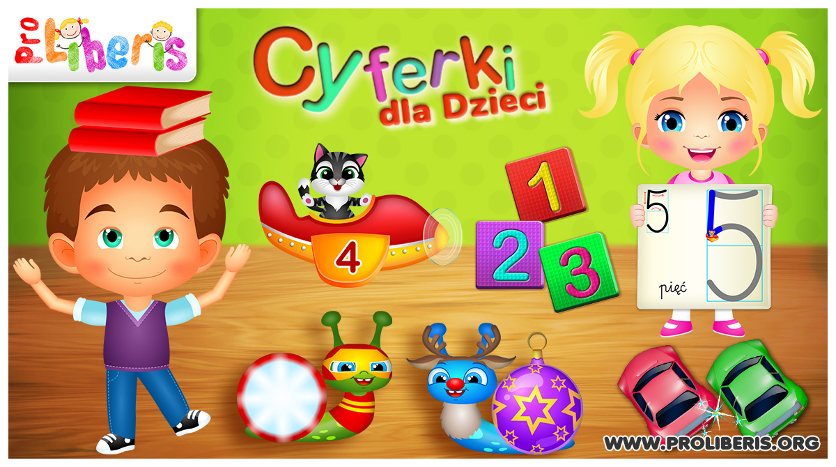 cyferki dla dzieci