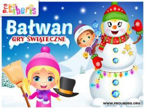 Bałwan - Gry Świąteczne