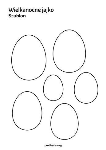 Wielkanocne szablony do druku