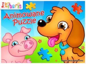 animowane puzzle gra dla dzieci