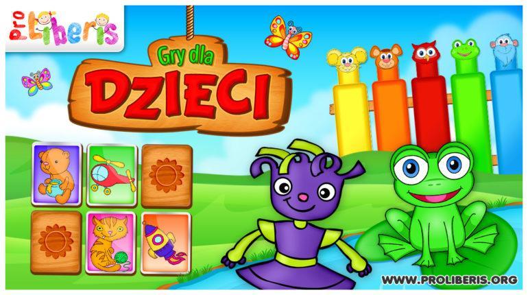Gry dla Dzieci - Zabawy ćwiczące pamięć