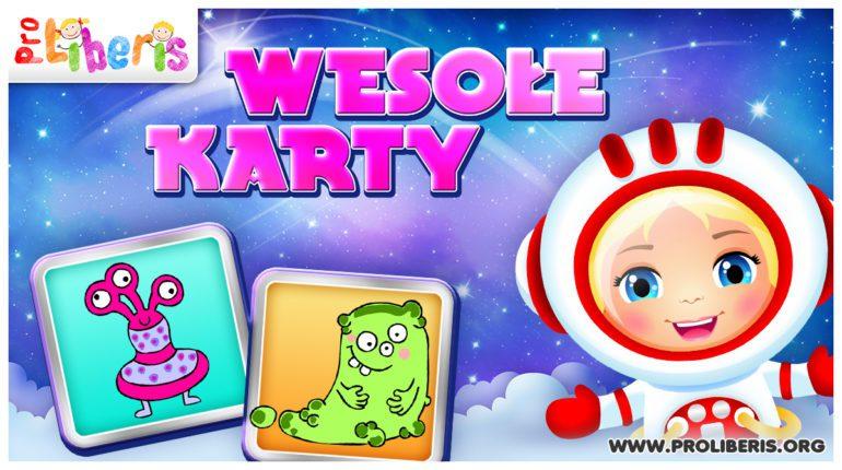 Gra Wesołe Karty dla Dzieci